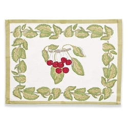 Cherry Placemats, Set of 6