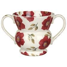 Christmas Rose Two Handled Vase-1 available