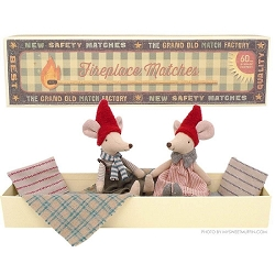 Mouse Christmas Mum & Dad Boxed