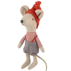 Christmas Mouse, Boy Retired