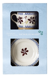 CLematis Boxed Set Cup and Plate