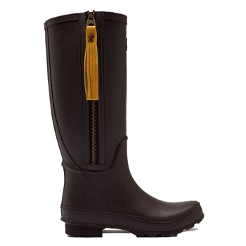Collette Black Tall Wellies