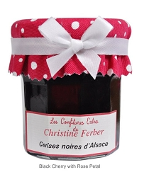 Christine Ferber Black Cherry with Rose Petal