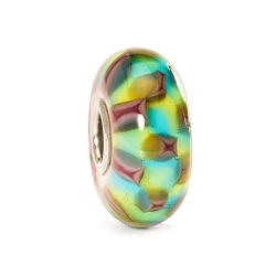 Turquoise Purple Chess Bead