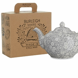 Dove Grey Felicity Teapot Gift Set Boxed  -1 available