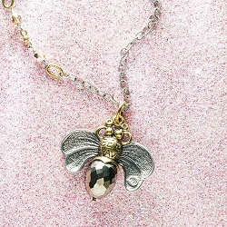Bee Brave Miraculous Necklace