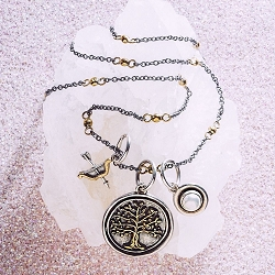 Tree of Life Foundation Universe Necklace