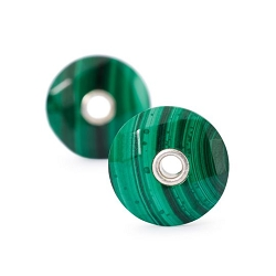 Malachite Earring - 2 pair available