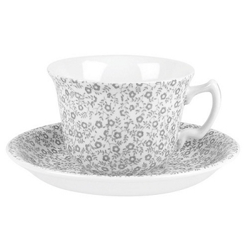 Dove Grey Felicity Teacup and Saucer - 3 available
