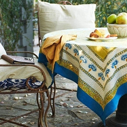 Bleuet French Tablecloth