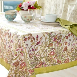 Petite Fleur French Tablecloth
