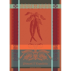 Piment D'Espelette Epices Kitchen Towel 22
