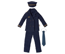 Maileg Ginger Dad Pilot Outfit Size 1