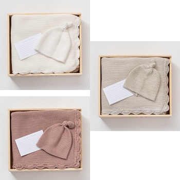 Zestt Organics Heirloom Cotton Gift Set- Select Color