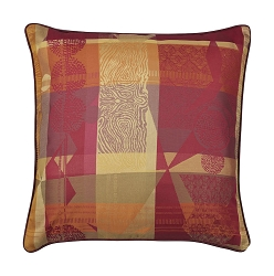Mille Tingari Terre Rouge Cushion Cover 100% Cotton Set/2, Two Sizes