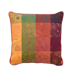 Mille Alcees Litchi Cushion Cover,  100% Cotton set/2   20