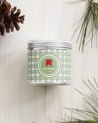 Sea Pines Holiday Tin Candle