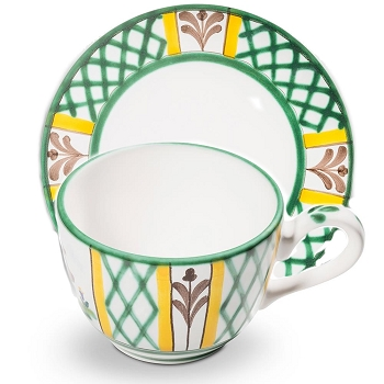 Hunter's Delight Classic Coffee Cup and Saucer Retired Style- 2 available