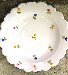 Faienceries d'Art de Malicorne Mille Fleurs Soup Bowl