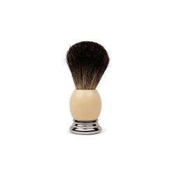 Pure Badger Shave Brush-Ivory handle