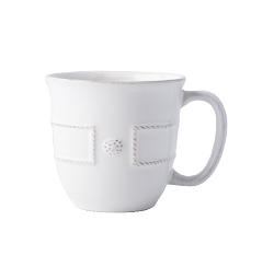 Berry & Thread French Panel Whitewash Coff/Tea Cup
