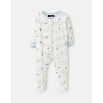 ZIGGY OFFICIAL PETER RABBIT™ COLLECTION PRINTED BABYGROW WITH FEET