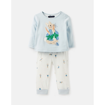 BYRON OFFICIAL PETER RABBIT™ COLLECTION APPLIQUE TOP AND PANTS SET