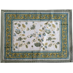 Joy Placemats Green & Blue, Set of 6