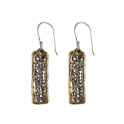 Kristal Verve Earrings - Brass