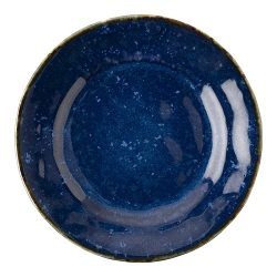 Puro Dappled Cobalt Side Cocktail Plate