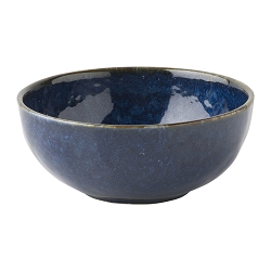 Puro Dappled Cobalt Cereal /Ice Cream Bowl