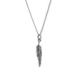 Light As a Feather Tiny Necklace