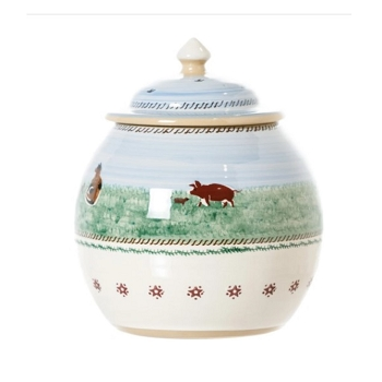 Landscape Mixed Animal Cookie Jar