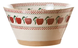 Apple Large Angled Bowl