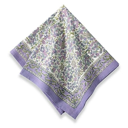 Lavender Napkins, Set of 6-Backordered