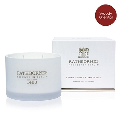 Cedar, Cloves and Ambergris Scented Classic Candle