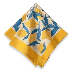 Lemon Tree Napkins, Set 6-Backordered
