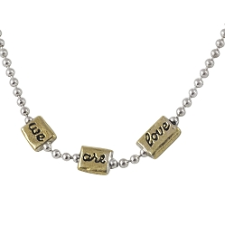 Little Meditations Necklace - We Are Love