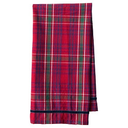 Red Tartan Tea Towel