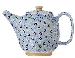 Light Blue Lawn Teapot