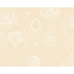 Mille Eclats Chocolate Blanc Coated Placemat 16