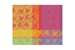 Mille Colibris Antilles Placemat 16 X 20 Coated, Set/4