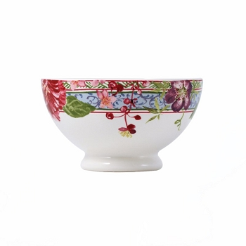 Gien Millefleurs French Style Cereal Bowl set/4