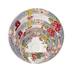 Gien Millefleurs 5 Piece Placesetting