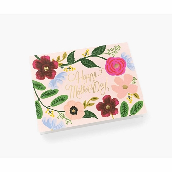 Rifle Paper Wildflower Mother's Day Card