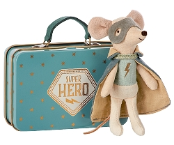 Mouse, Guardian Hero w/Suitcase