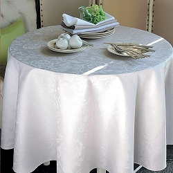 Mille Charmes Nacre Tablecloths, 100% Cotton