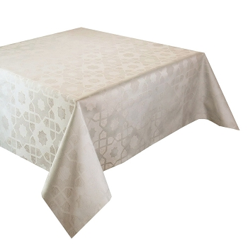 Mille Gibraltar Mastic (Beige) Tablecloth