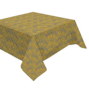 Mille Ikats Curry Tablecloth