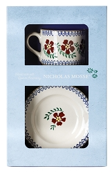 Old Rose Boxed Set Cup and Plate